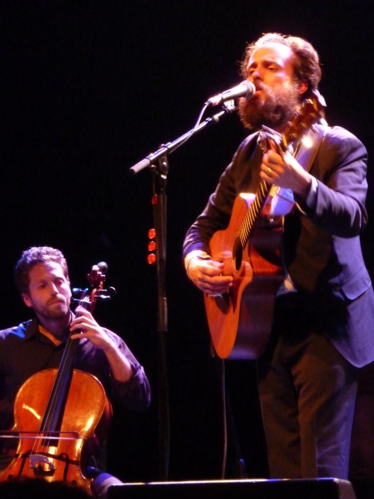 Iron & Wine, la Cigale 2013, cello