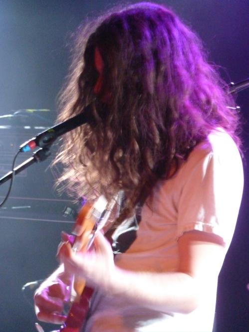 Kurt Vile, Paris, 8th June, singing