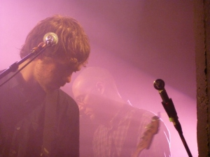 The National, Paris, June 2013 (Dessner & Devendorf)
