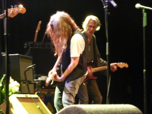 Patti Smith on guitar