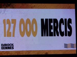 Attendance - Eurocks Belfort 2013