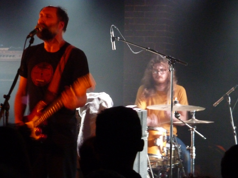 Built To Spill, Paris 2013, drums and guitar