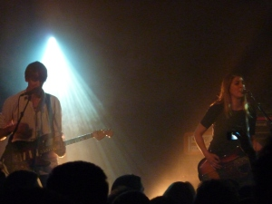 Stephen Malkmus & The Jigs, Paris 2014 - Stephen Malkmus and Joanna Bolme