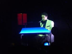 Metronomy, Paris, April 2014, keyboards