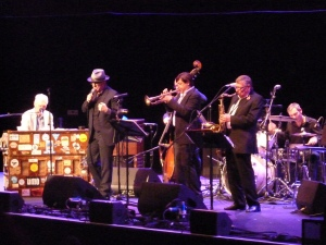 Elvis Costello, Royal Albert Hall 2014, with Georgie Fame