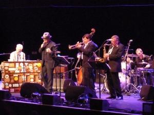 Elvis Costello, Royal Albert Hall 2014, with Georgie Fame