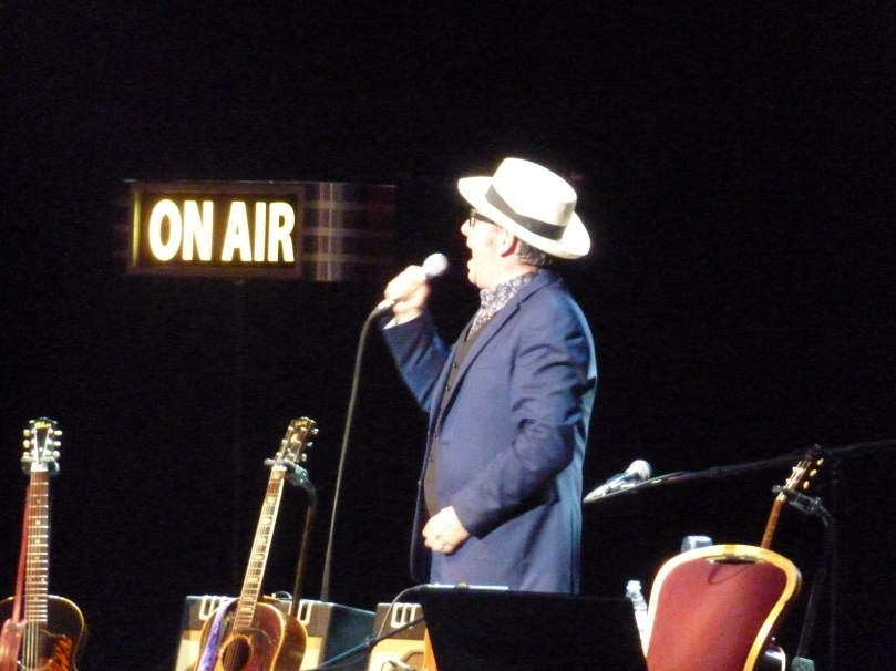 Elvis Costello, Royal Albert Hall 2014, on air