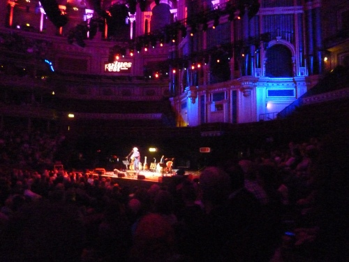 Elvis Costello, Royal Albert Hall 2014, alone