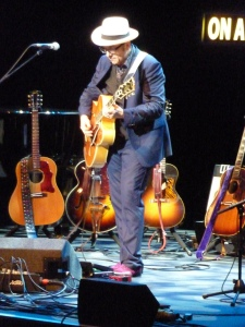 Elvis Costello, Royal Albert Hall 2014, on guitar