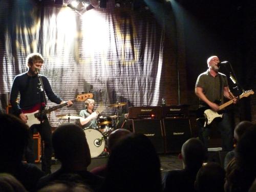 Bob Mould, Village Underground, November 2014, band