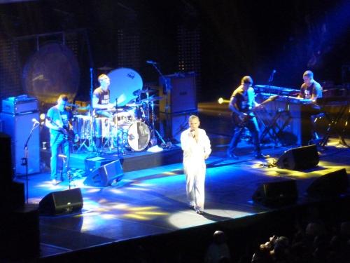 Morrissey, O2 Arena, November 2014, Band