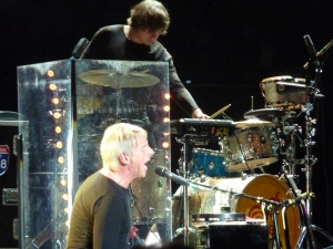 Weller on piano, Teenage Cancer Trust Festival 2015