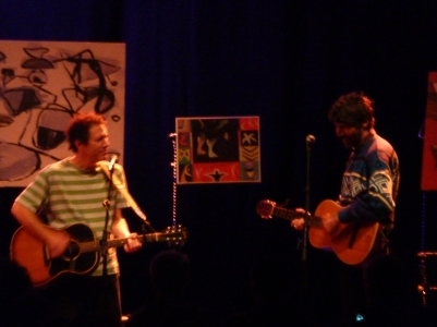Yo La Tengo, Shepherd's Bush Empire, October 2015, Ira and Gruff Rhys