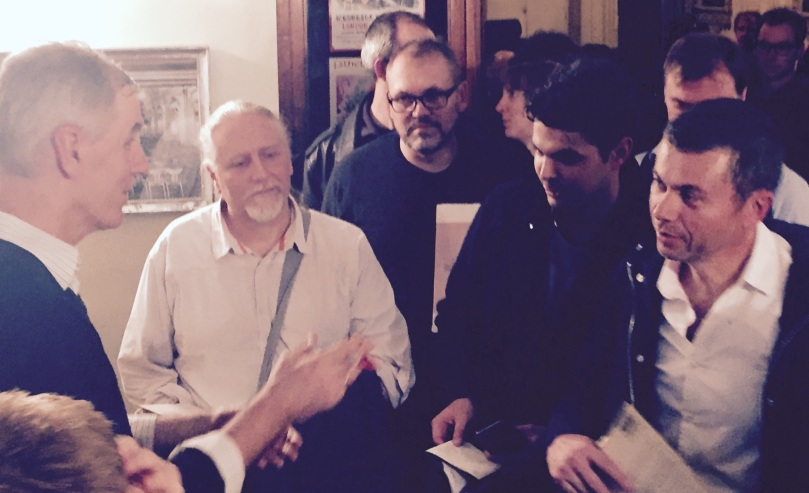 Robert Forster - chat after concert