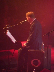 Edwyn Collins, Roundhouse, January 2016, singing