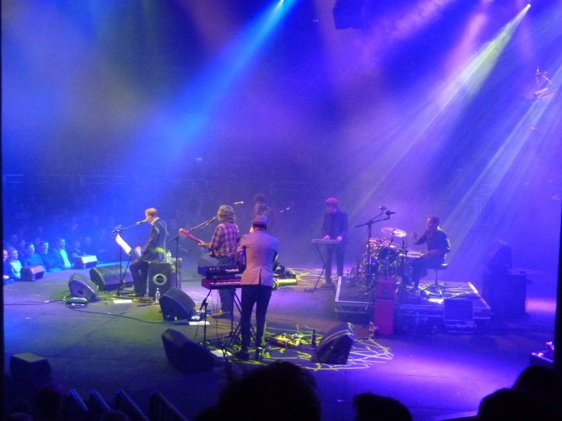 Edwyn Collins, Roundhouse, January 2016, band