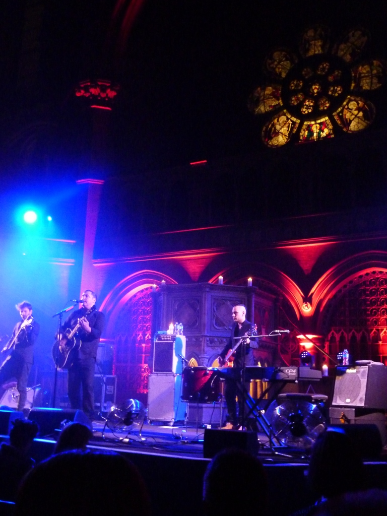 Greg Dulli, Union Chapel, February 2016, church