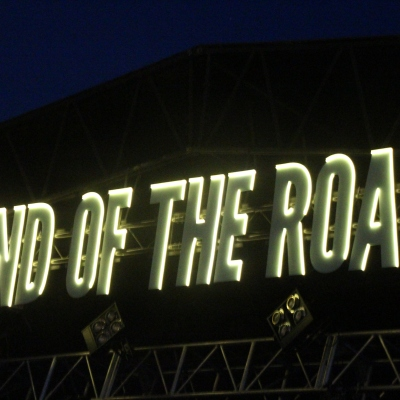 End of the Road - Over the Woods stage