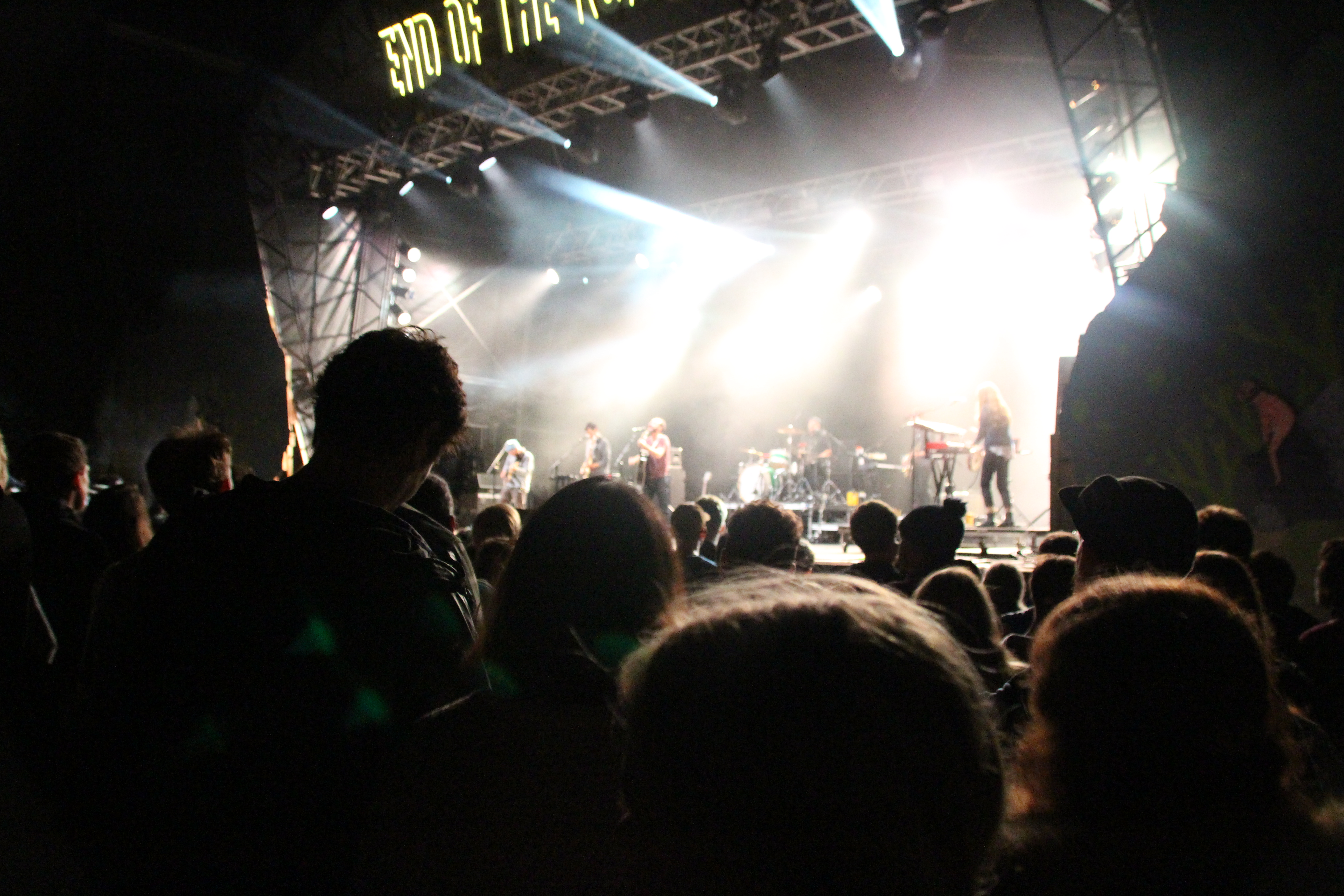 The Shins, in the crowd