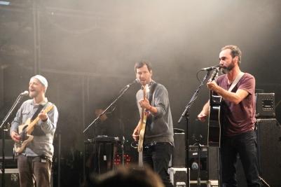 The Shins, on guitar