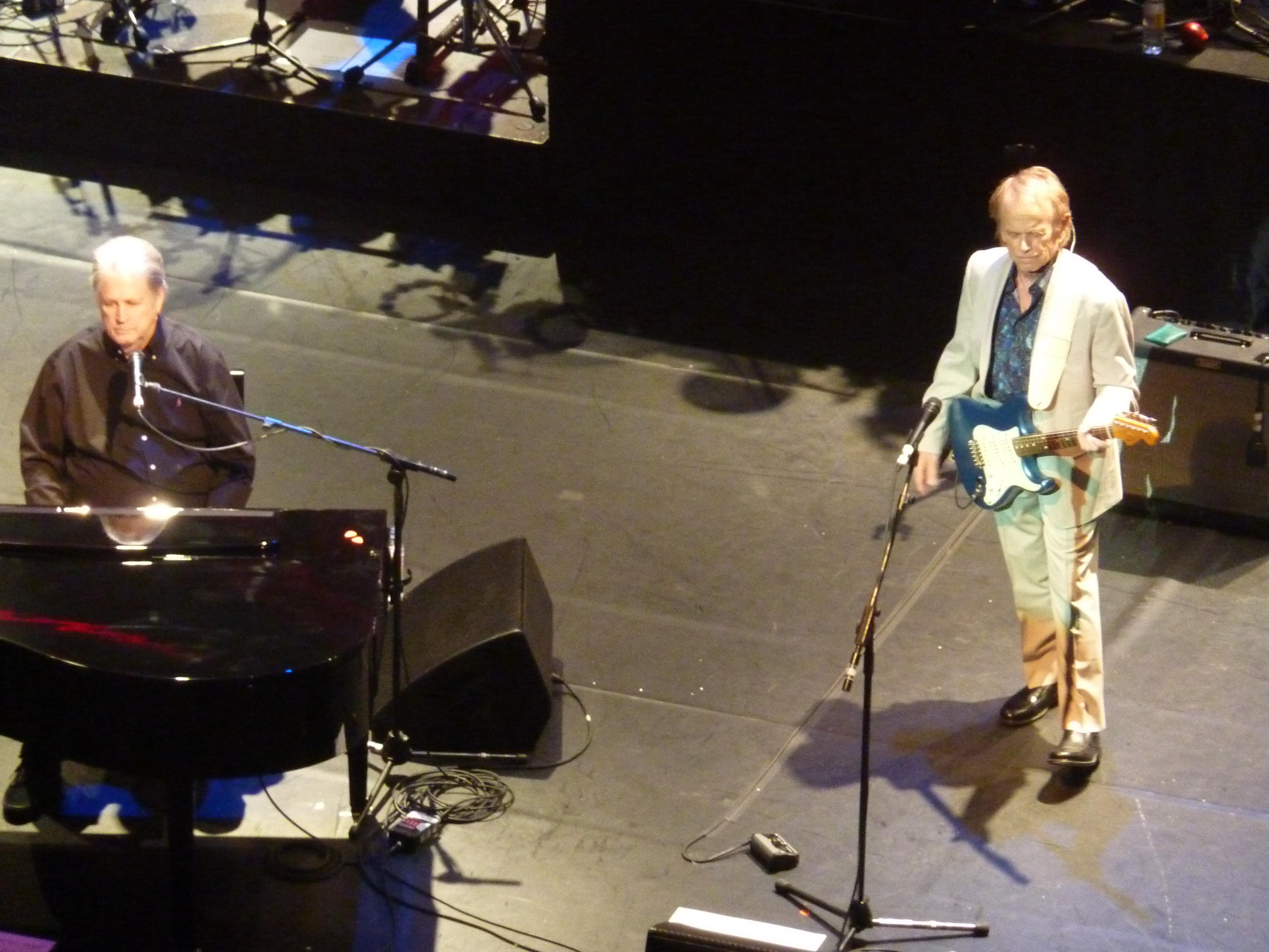 Brian Wilson, London Palladium, 20th May 2016, with Al Jardine