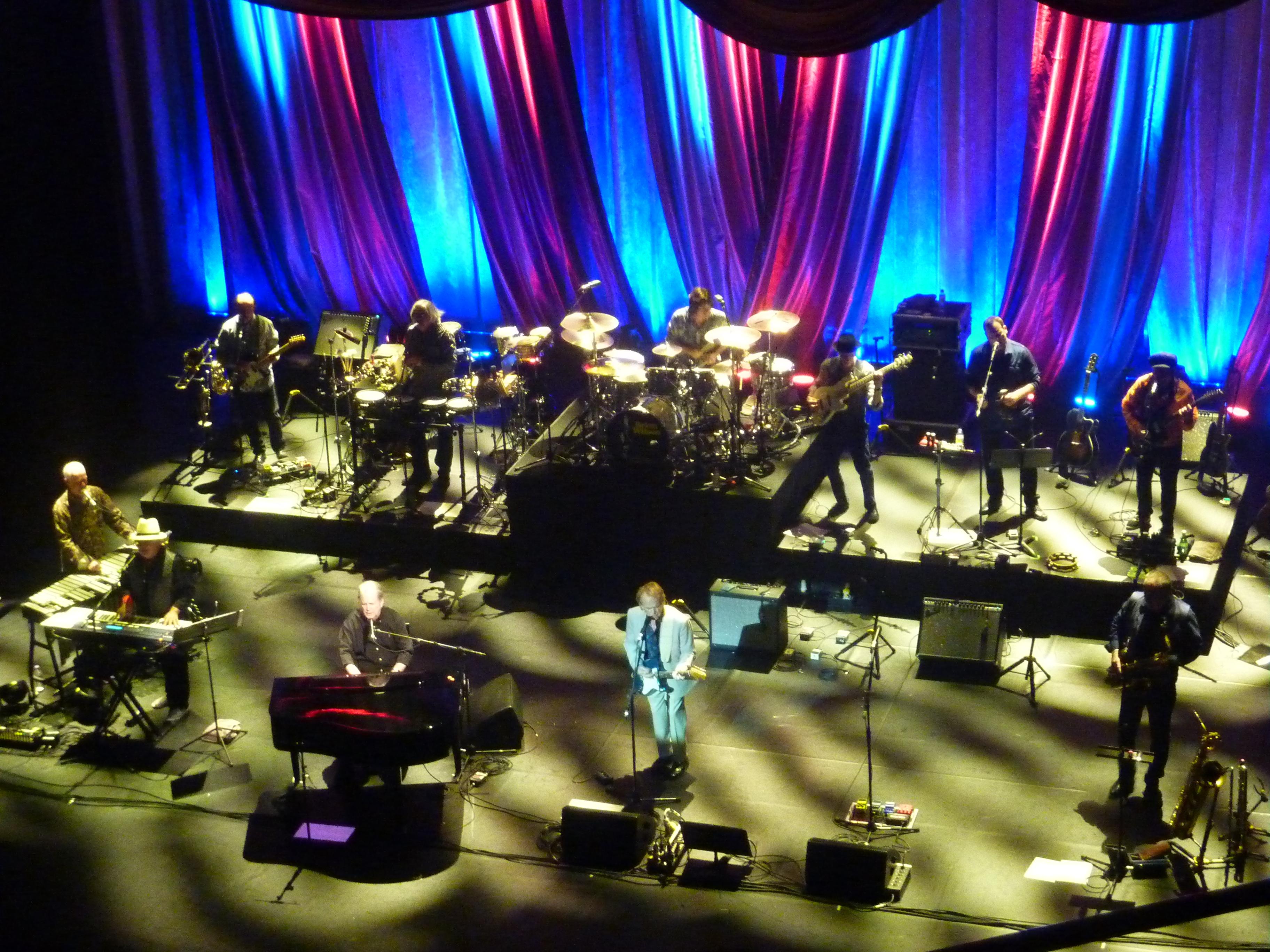 Brian Wilson, London Palladium, 20th May 2016, full band