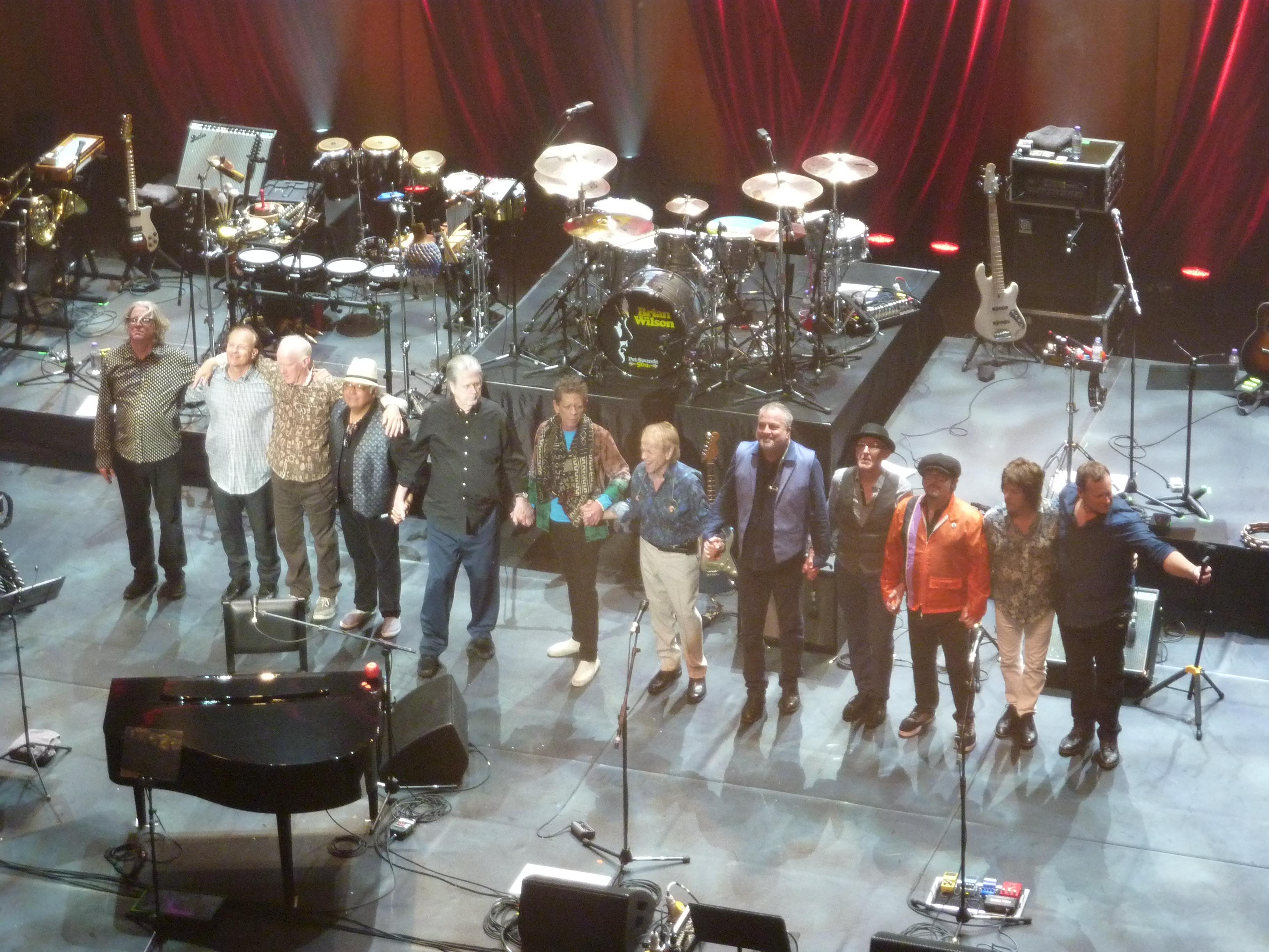 Brian Wilson, London Palladium, 20th May 2016, greetings