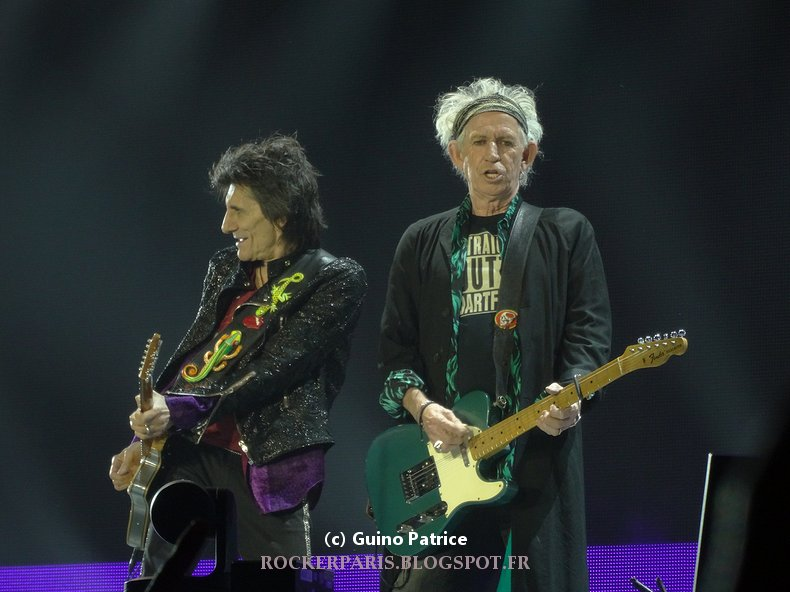 The Rolling Stones  @ U Arena, Nanterre, 22 Oct 2017