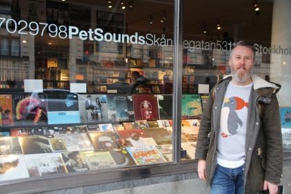 JG @ Pet Sounds, Stockholm